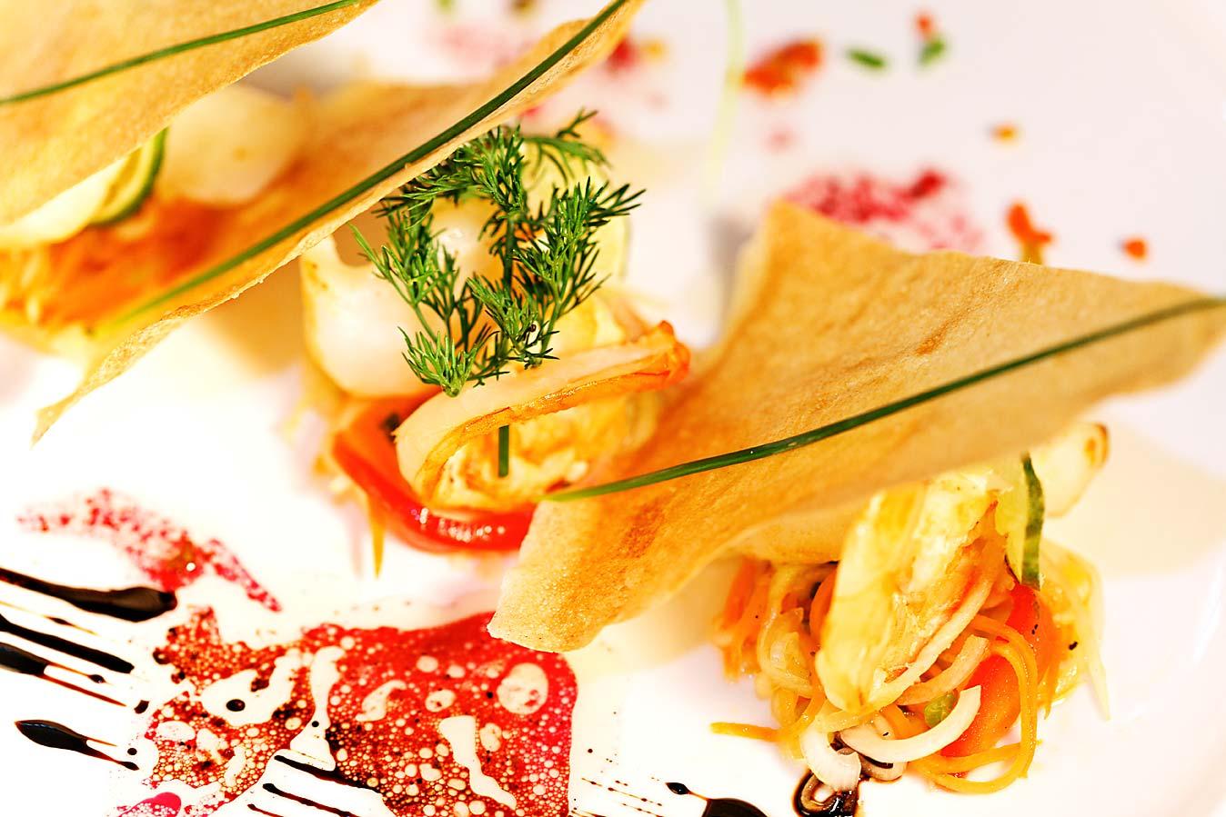 Le chef et la cuisine gastronomique dzama cocktail cafe for Cuisine gastronomique